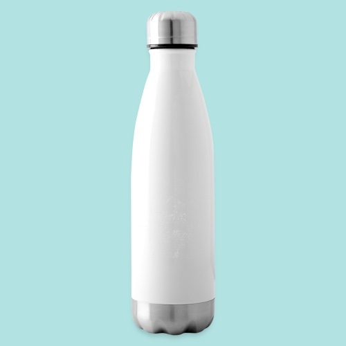 Old Guy, Eyes Open. - Insulated Water Bottle