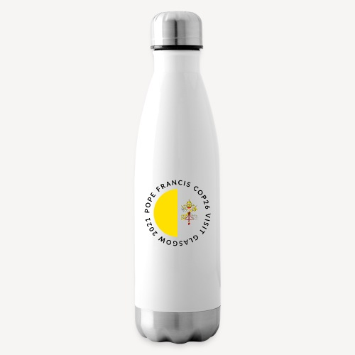 POPE FRANCIS GLASGOW 2021 - Insulated Water Bottle