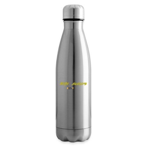born awesome - Insulated Water Bottle