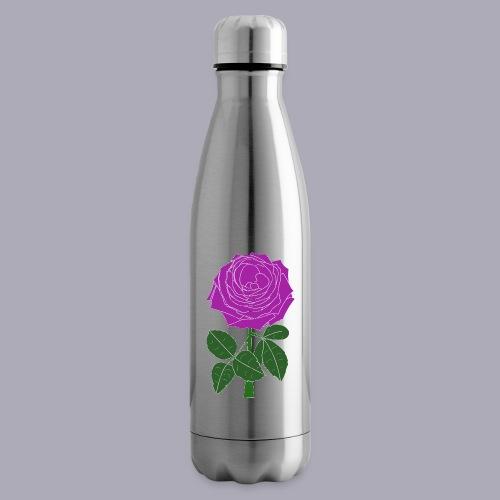 Landryn Design - Pink rose - Insulated Water Bottle