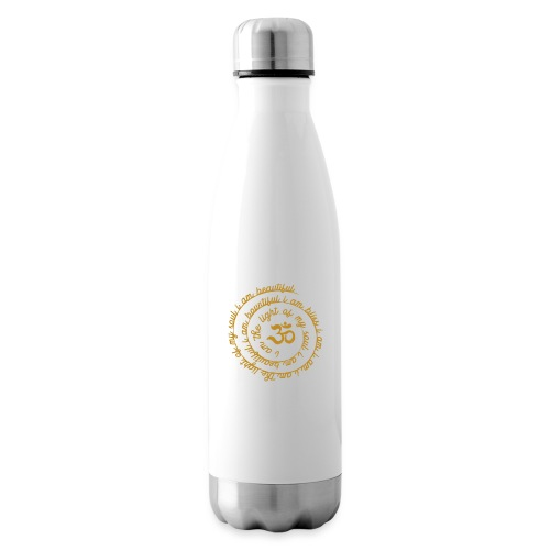 Yoga Mantra Fashion I am the light of my soul - Isolierflasche