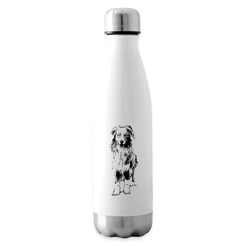 Aussie Australian Shepherd Design Hunde Geschenk - Isolierflasche