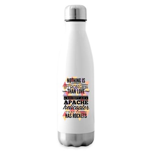 Amore, scritta in inglese - Termica Bottiglia