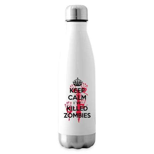 keep calm i have killed zombies - Isolierflasche