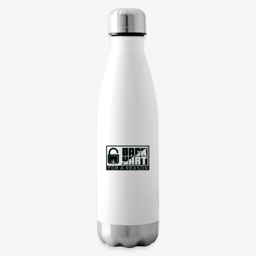 backart - for a reason - Insulated Water Bottle