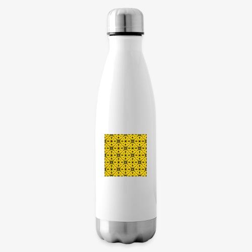 Design motifs jaune et noir - Bouteille isotherme