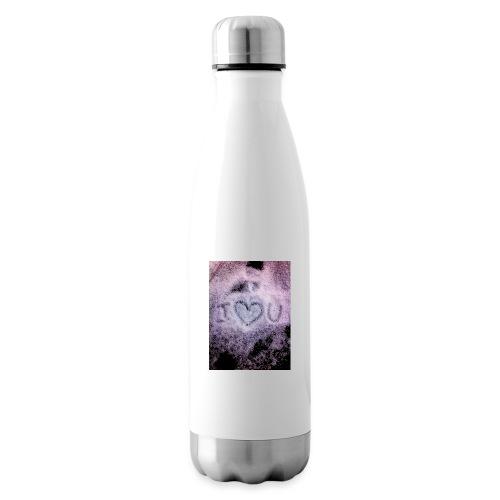 Ich liebe dich - Insulated Water Bottle