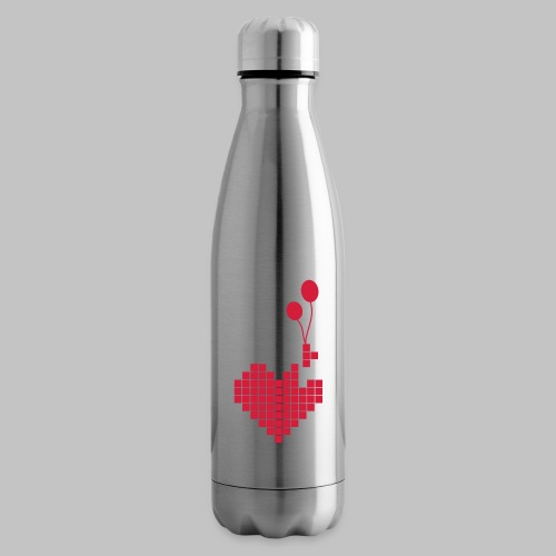 heart and balloons - Insulated Water Bottle