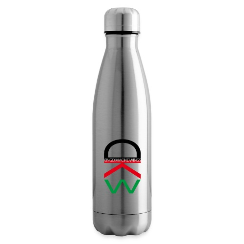 King Diamond Wings Colored Logo - Insulated Water Bottle