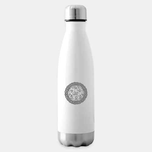 D20 Geschenk Glücksbringer Rollenspiel Würfel - Insulated Water Bottle