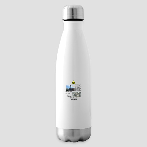 no nuclear button (German) Wer ist der Nächste? - Insulated Water Bottle