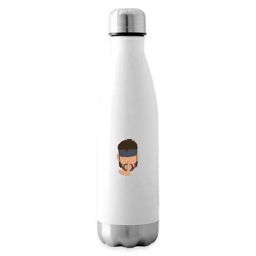 Solid Snake Simplistic - Insulated Water Bottle