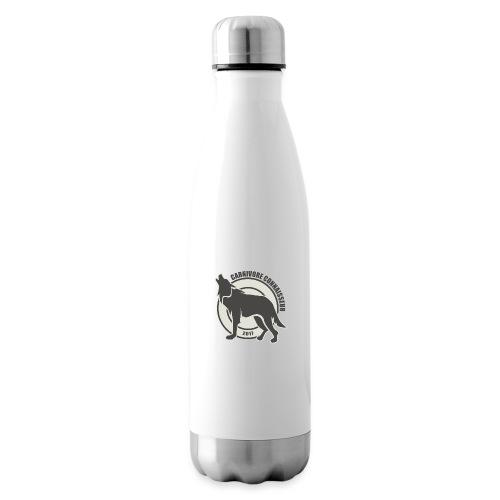 Fleischfresser - Grillshirt - Der mit dem Wolf heu - Isolierflasche
