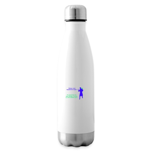 Clyde will be back - Insulated Water Bottle