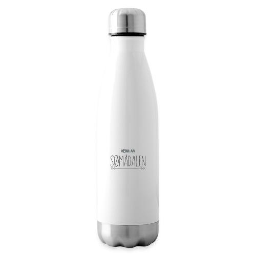 Venn av - Isolert flaske