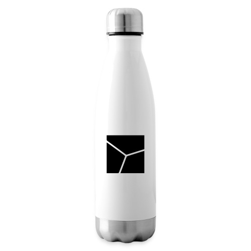 Logo in Schwarz - Isolierflasche