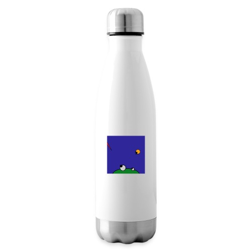 Hungry Frog - stork attack - Insulated Water Bottle