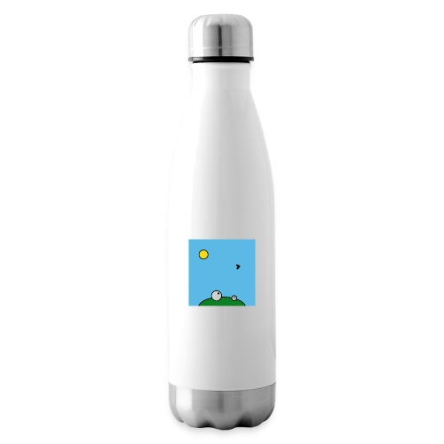 Hungry Frog - lunch time - Insulated Water Bottle
