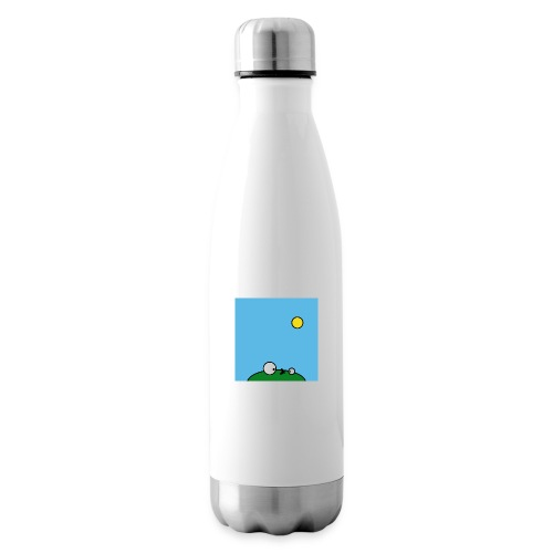 Hungry Frog - suicide fly - Insulated Water Bottle