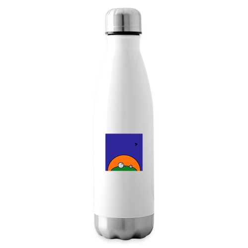 Hungry Frog - ready for dinner - Insulated Water Bottle