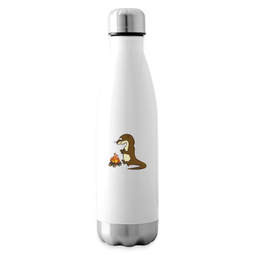 Song of the Paddle; Quentin campfire - Insulated Water Bottle