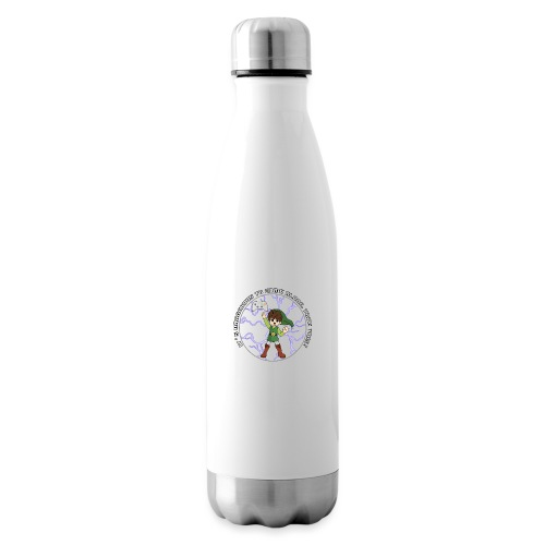 Dangerous To Game Alone - Insulated Water Bottle