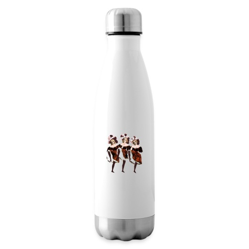 Vintage Dancers - Insulated Water Bottle