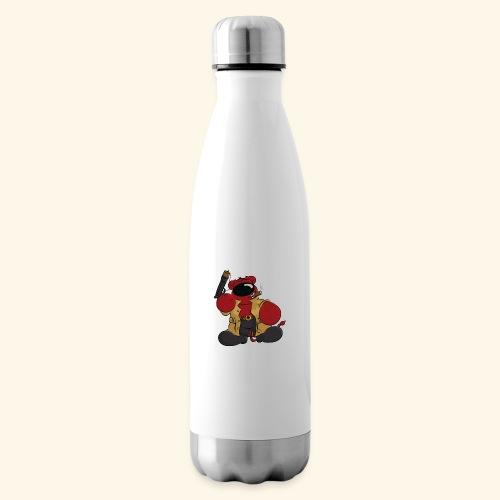 chris bears Der Bär ist ein Superheld - Isolierflasche
