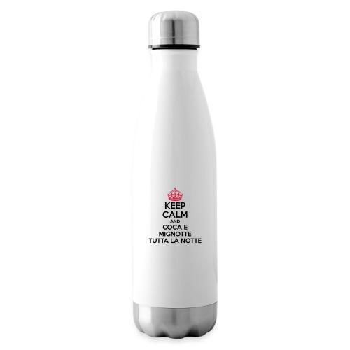 Coca e Mignotte Keep Calm - Termica Bottiglia