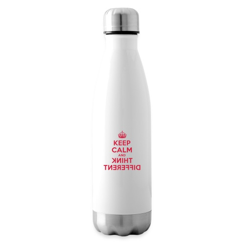 keep calm and think different - Isolierflasche