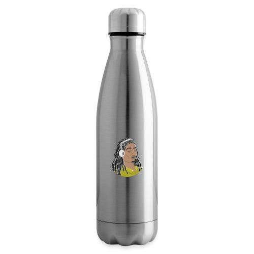 Dreadlock Man - Insulated Water Bottle