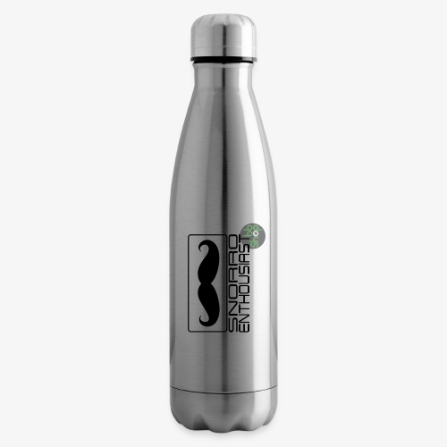 Snorro enthusiastic (black) - Insulated Water Bottle