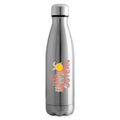 Echt happy Ostern kleines, gelbes Hasen-Kücken - Isolierflasche