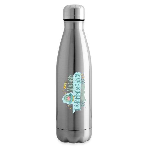 Neuer Erdenbewohner gelandet - Baby Geburt - Isolierflasche