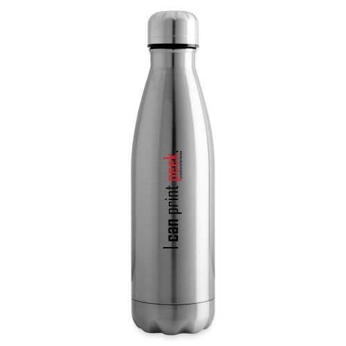 I can print peek. - Insulated Water Bottle