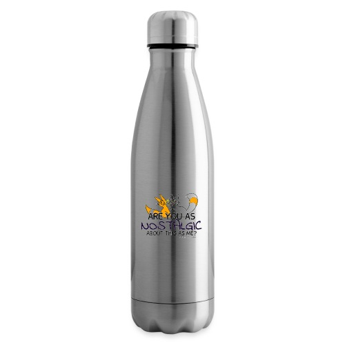 Nostalgia Hurts - Insulated Water Bottle