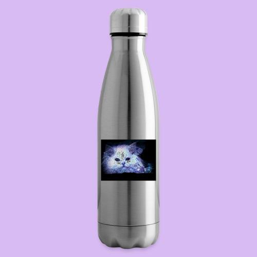 Gatto bianco glitter - Termica Bottiglia