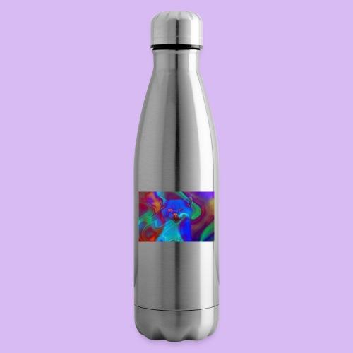 Gattino con effetti neon surreali - Termica Bottiglia