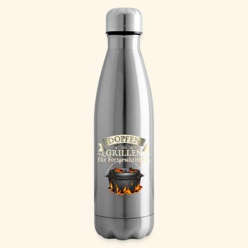 Grill Spruch Dopfen - Grillen für Fortgeschrittene - Isolierflasche