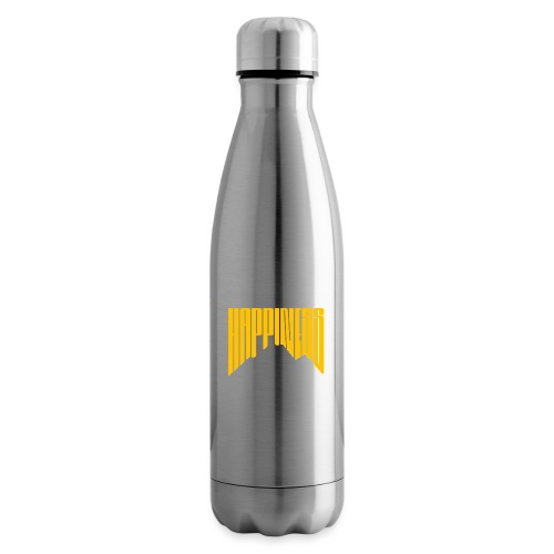 Happiness I spell it Mountain Outdoor Wandern Berg - Isolierflasche