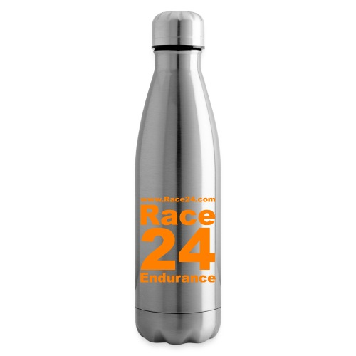 Race24 Logo in Orange - Insulated Water Bottle