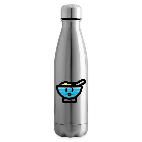 Cute Breakfast Bowl - Insulated Water Bottle