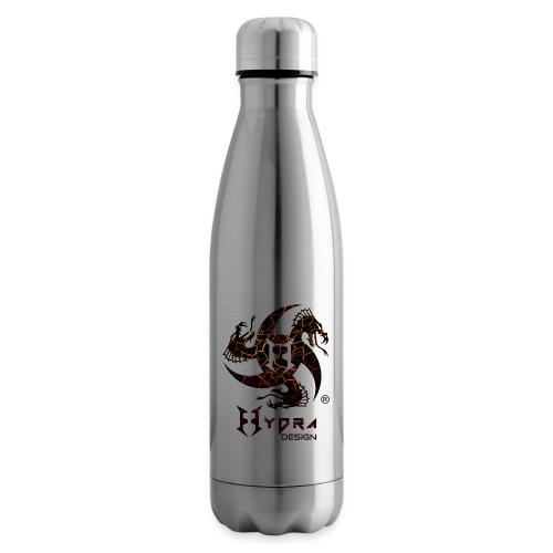 Hydra Design - logo Cracked lava - Termica Bottiglia