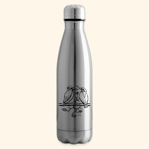 Eisvogel Liebe - Isolierflasche