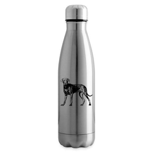 Weimaraner / Hunde Design Geschenkidee - Isolierflasche