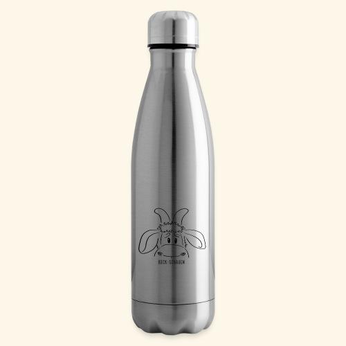 Schafbock: Bock schauen - schwarz - Isolierflasche
