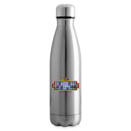 Jackie Weaver Wheel of Fortune - Insulated Water Bottle