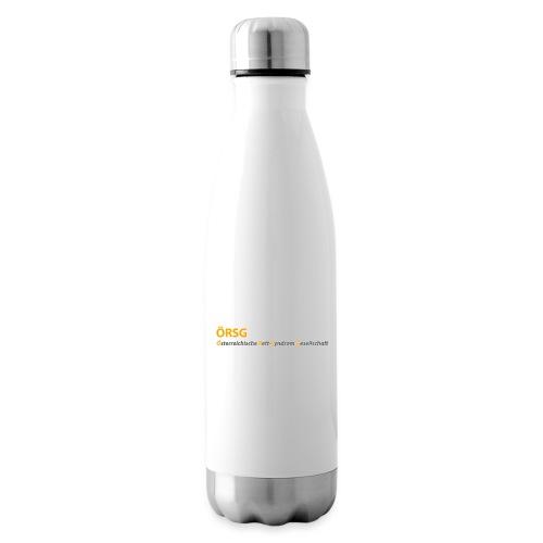 Text-Logo der ÖRSG - Rett Syndrom Österreich - Isolierflasche