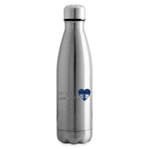 Tardis Heart - Insulated Water Bottle