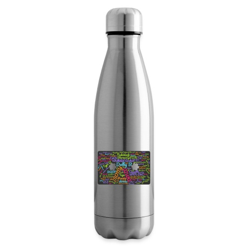wordcloud Cassettes- WA - Insulated Water Bottle